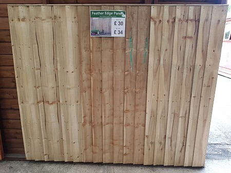 Shed City Telford Fence Panels