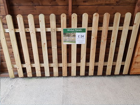 Shed City Wicket Fence Panel Telford Shropshire