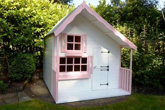Playhouse, Stairs to bunk, Shed City, Shropshire