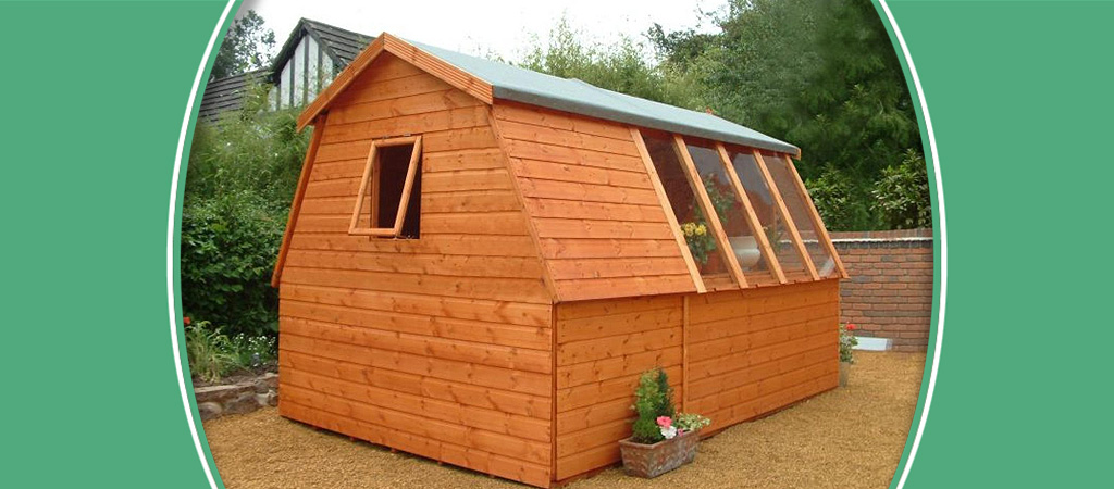 Suntrap Combination, Potting Shed, Shed City, Telford