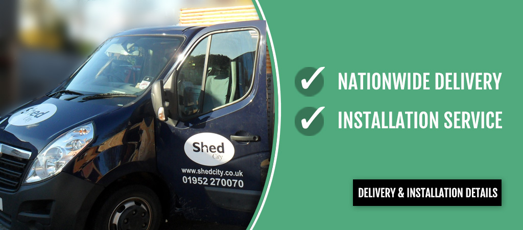 Nationwide Shed Delivery